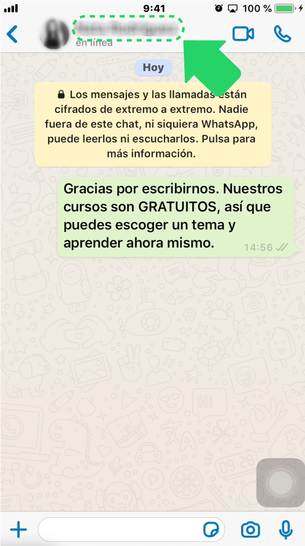 ¿Cómo marcar un chat de WhatsApp Business con las etiquetas?