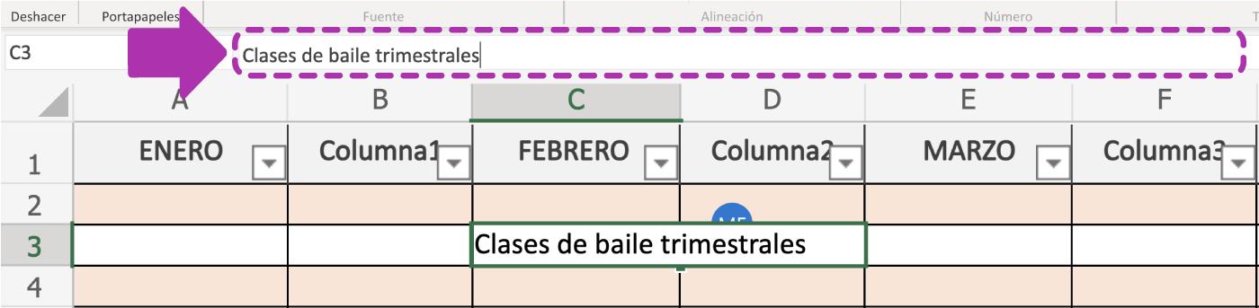 Así funcionan las celdas en Excel 365