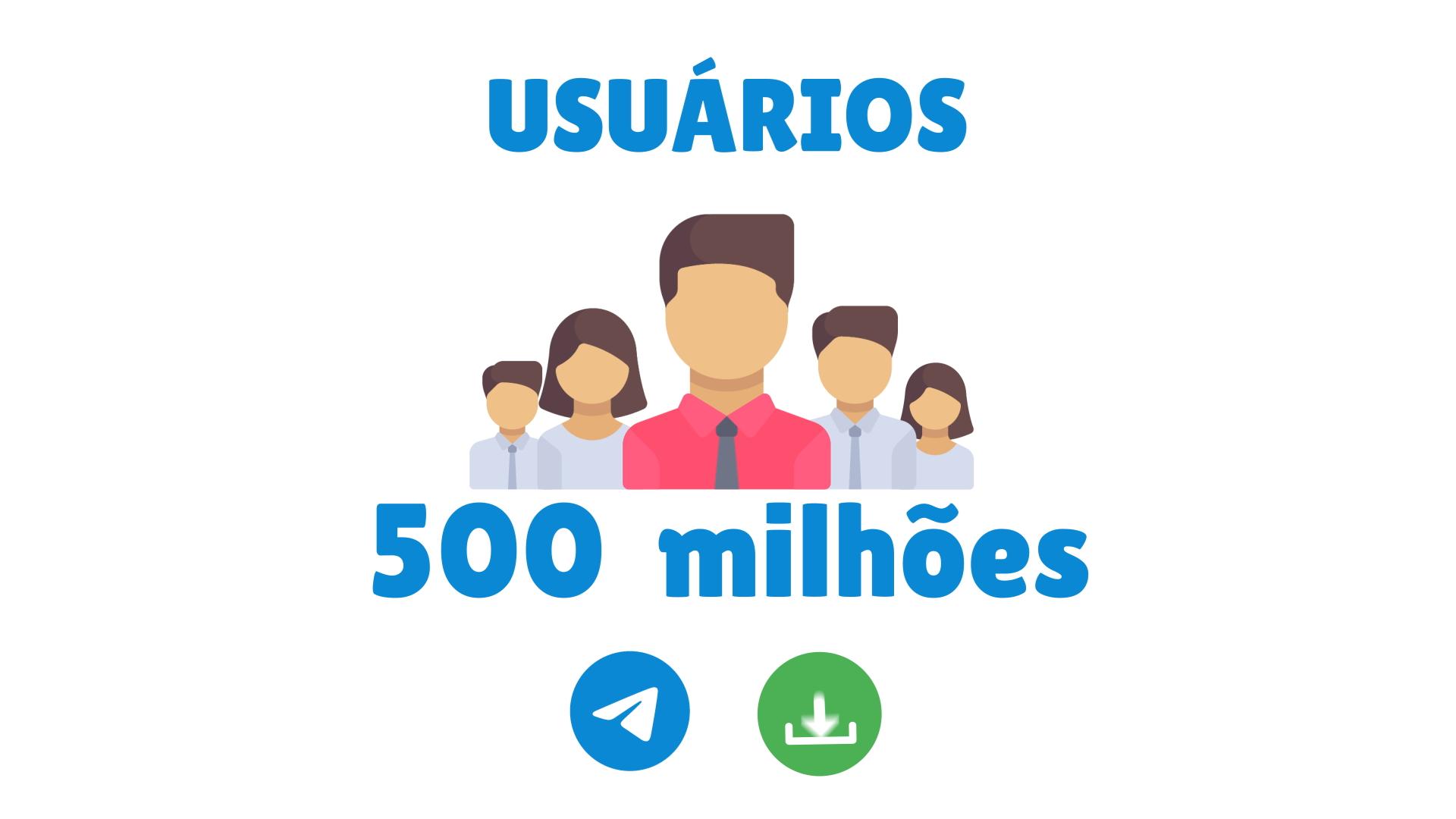 Whatsapp ou Telegram: número de usuários do Telegram