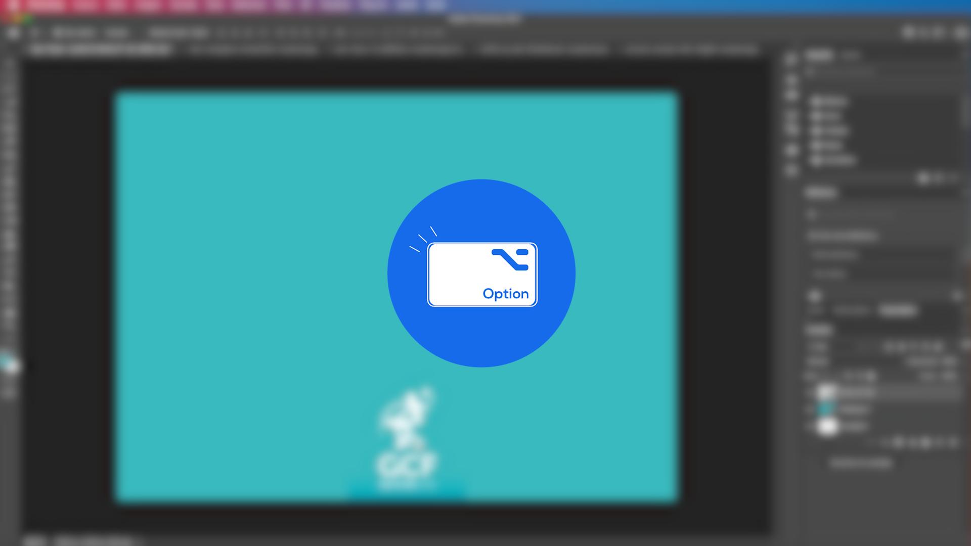 Como copiar elementos com a ferramenta mover do Photoshop - parte 3