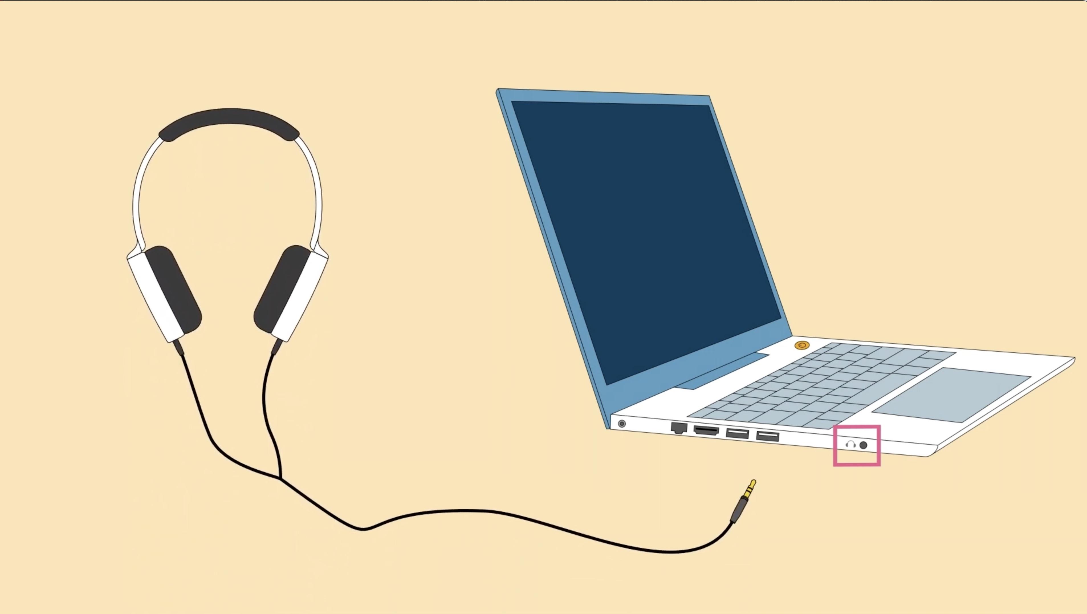 Como conectar fones de ouvido e caixas de som a um computador
