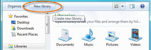 Create new Library