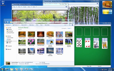 Screenshot of Windows 7