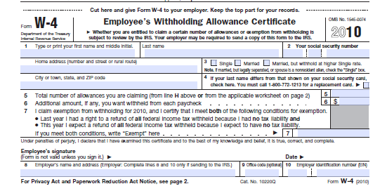 Workplace Basics: Completing I-9 and W-4 Forms - Page 4