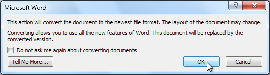 Скриншот Word 2013