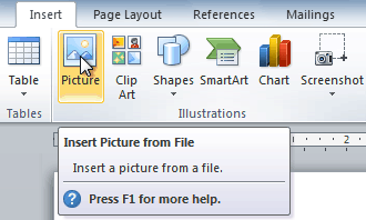 Word 2010: Inserting Clip Art and Pictures