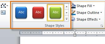 Shape Styles