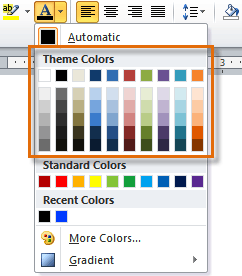 Theme Colors