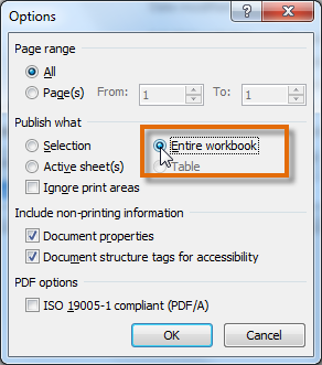 Selecting Entire workbook
