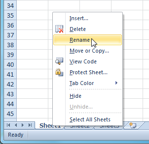 Excel 2010: Worksheet Basics - Full Page