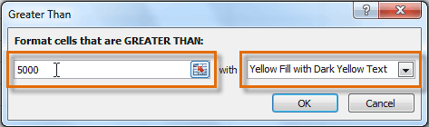 Ввод значения и стиль форматирования