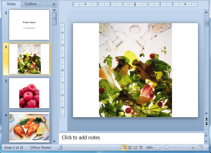 PowerPoint 2010: Creating Photo Albums in PowerPoint
