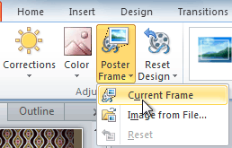 powerpoint 2010 inserting videos