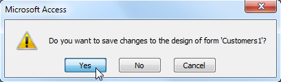 Saving changes to unsaved objects
