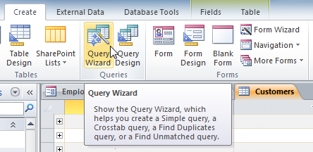 The Query Wizard Command
