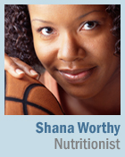 photo of shana worthy, nutritionist