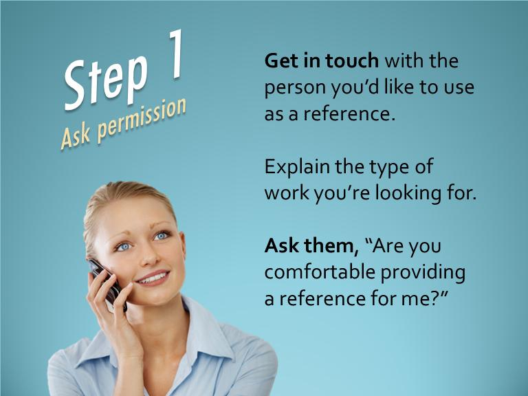 step 1 ask permission