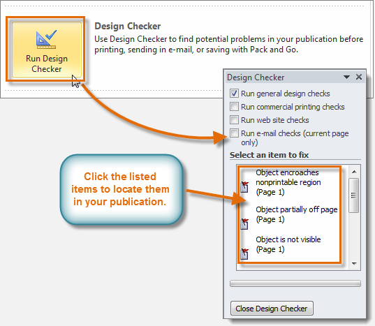 The Design Checker