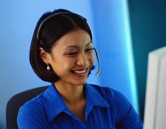 Using a headset to talk on Skype