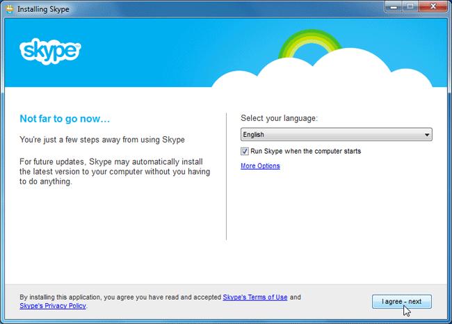 Skype 2011 Setting Up Skype