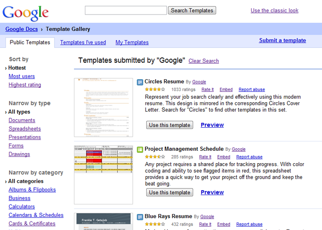 Google sheets creating google docs full page templates submitted by google yadclub Choice Image