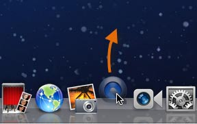 Removing an app from the Dock