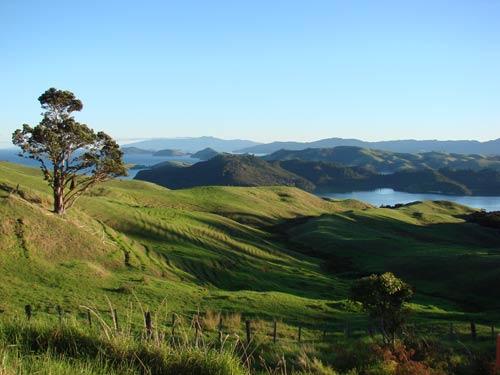 A landscape photo