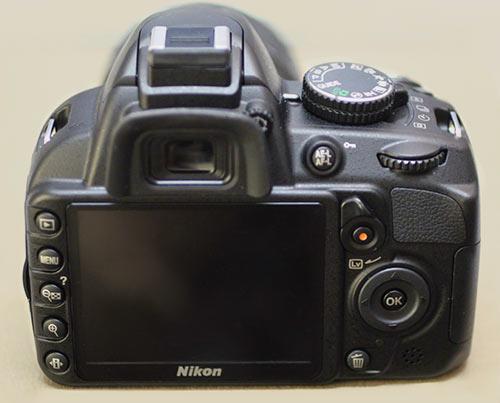 Buttons on a DSLR camera