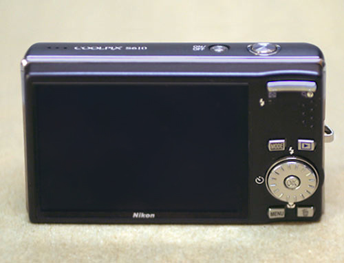 Buttons on a point-and-shoot camera