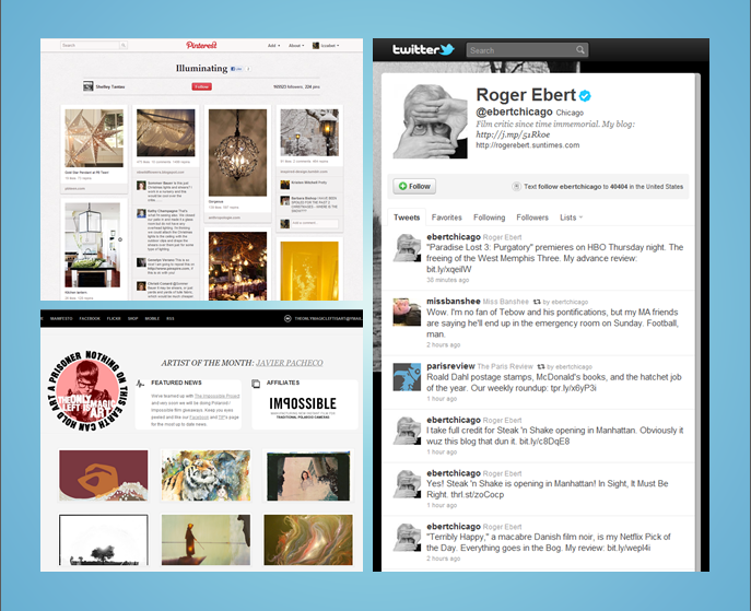 Examples of microblogging
