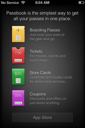 The Passbook app