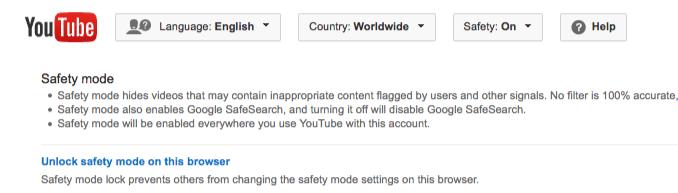 στιγμιότυπο οθόνης του YouTube