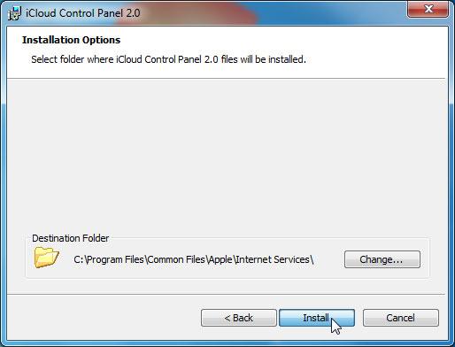 OS X Mavericks: Setting Up iCloud with Your Windows PC