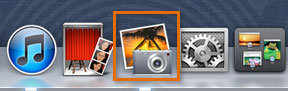 Opening iPhoto