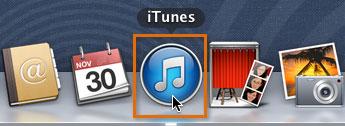 Opening iTunes