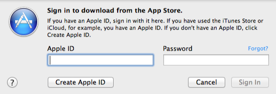 Creating a new Apple ID