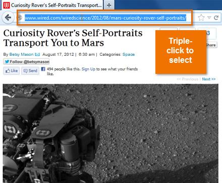 Screenshot of Google Chrome