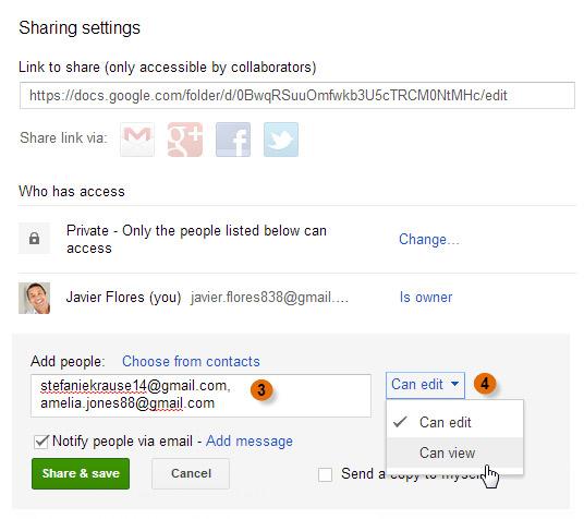 Scerenshot of Google Drive