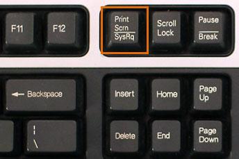 Screenshot of PC Keyboard