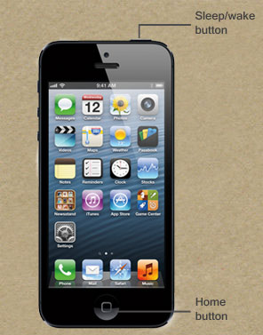 Graphic of iPhone