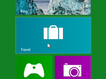 Screenshot of Windows 8