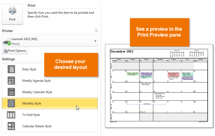 Outlook 2010: Managing Your Calendars - Full Page