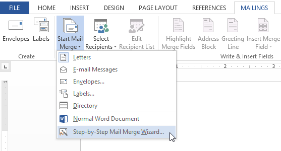 Word 2013 mail merge full page screenshot of word 2013 m4hsunfo