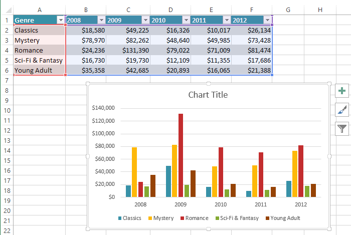 Excel 2013 charts full page screenshot of excel 2013 ccuart Image collections