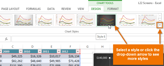 Excel 2013 charts screenshot of excel 2013 ccuart Gallery