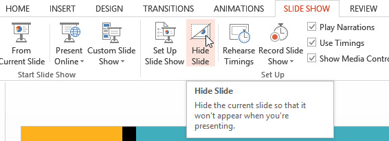 printing a custom PowerPoint show
