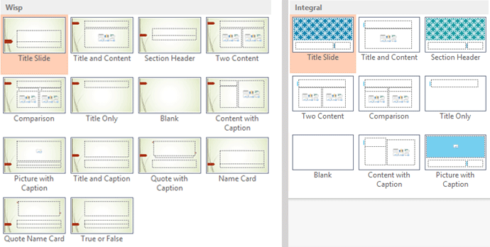powerpoint 2013 applying themes