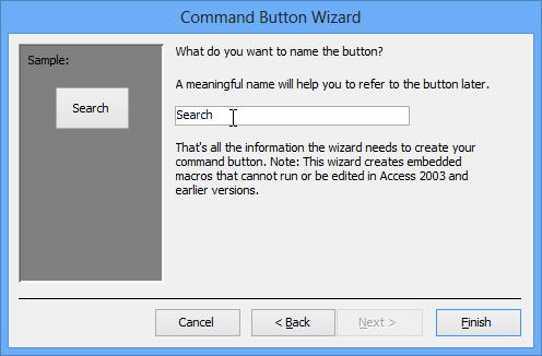 formatting Access 2013