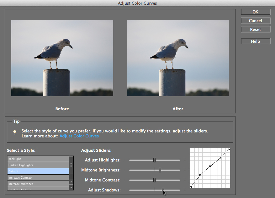 Screenshot of Adobe Photoshop Elements