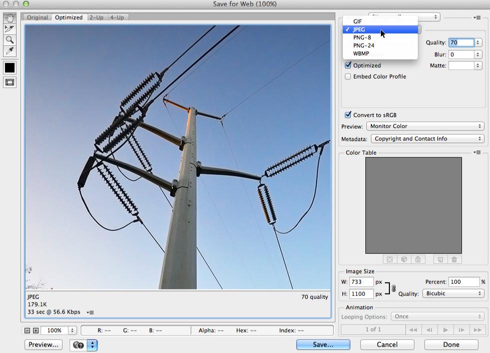 Photoshop Basics: Saving Images